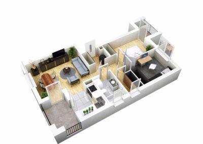 Apartament B 38.2