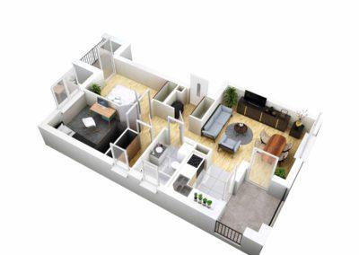 Apartament B 35.2