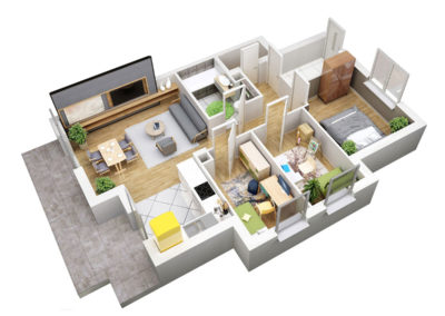 Apartament B 44.1