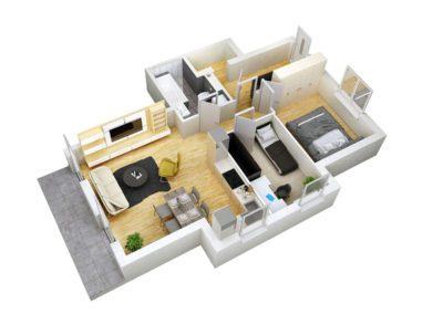 Apartament C 1.1