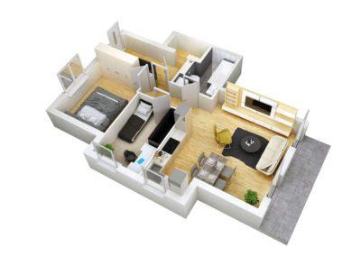 Apartament C 8.1
