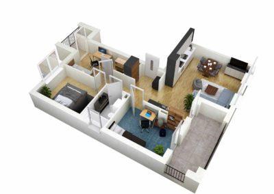 Apartament C 47.2