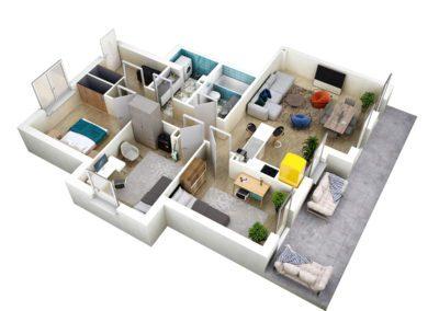 Apartament C 45.1